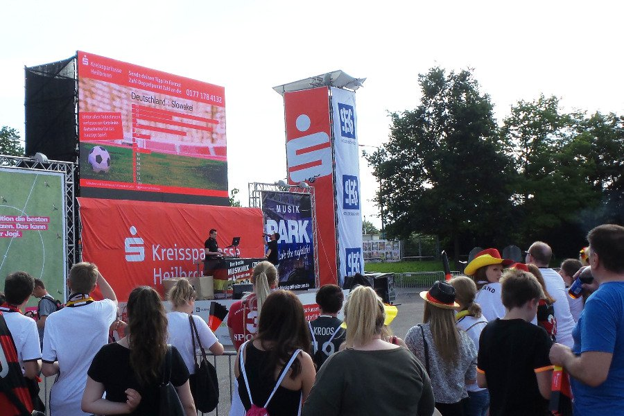 smsTippspiel | Public Viewing Heilbronn, Hamann & Friends GmbH